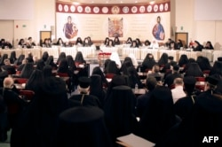 Лідери світових православних церков на Всеправославному соборі. Іракліон, 20 червня 2016 року