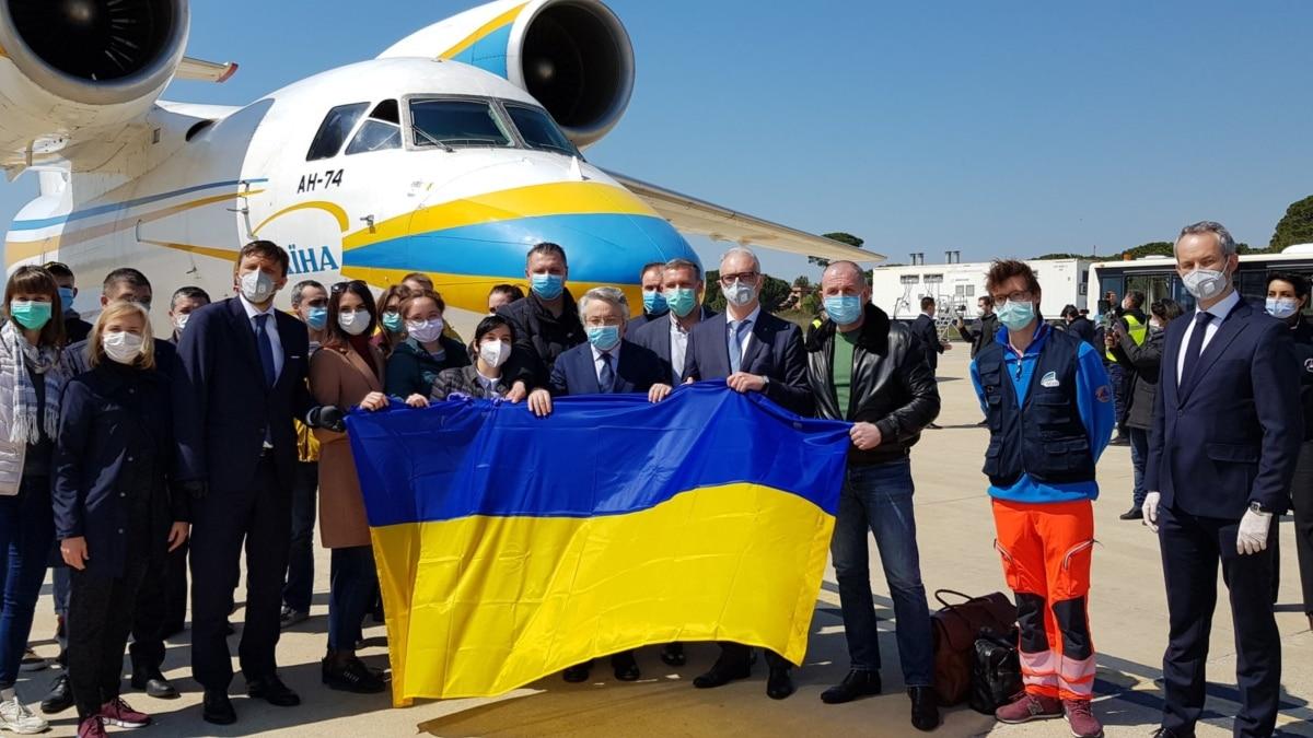 Италия благодарит украинским медикам за жест солидарности