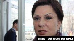 Адвокат Инесса Киселева. Алматы, 1 наурыз 2013 жыл.