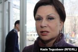 Алма Шалабаеваның адвокаты Инесса Киселева.