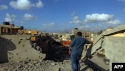 Окраина Бенгази.