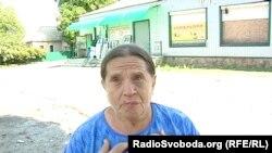 Жінка каже, що під час боїв за Іловайськ снарядом вбило її чоловіка