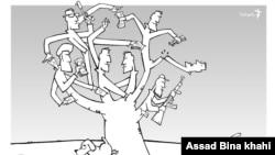 فرداکاتور--درخت فساد،طرح از اسد بیناخواهی