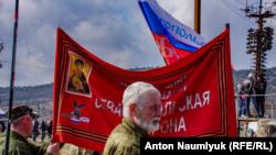 5 лет «крымской весны». В Севастополе прошел мотопробег «Ночных волков» (фотогалерея)