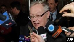 Сергей Рябков, Ресейдің сыртқы істер вице-министрі. Нью-Йорк, 16 қаңтар 2010 жыл