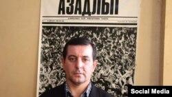 """""""Азербайжандын элдик фронту"""" партиясынын мүчөсү Фаиг Амирли."""