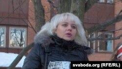 Ольга Класковская, белорусская оппозиционная журналистка.