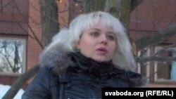 Belarusian opposition journalist Volha Klaskouskaya