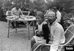 Svetlana în braţele lui Lavrenti Beria, 8 septembrie 1935
