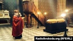 Прощання із Олександром Олесем у Празі, 25 січня