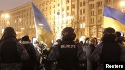 Разгром палаточного городка на Майдане