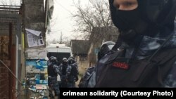 Під час одного з обшуків у Криму, 27 березня 2019 року