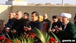 Turkish President Recep Tayyip Erdogan joined Uzbek leaders in Samarkand, Uzbekistan.