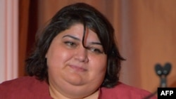 Khadija Ismayilova has continued to do the job that won her awards before her arrest: working to highlight human rights abuses and government corruption in the oil-rich Caspian Sea state. And she says she won't stop.