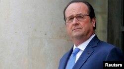 فرانسوا اولاند رئیس جمهور فرانسه
