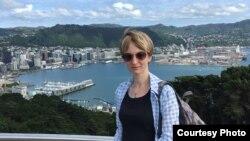 Татьяна Рябинкина в Новой Зеландии