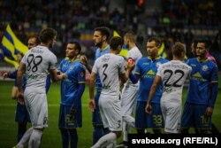 «Крумкачы» гуляюць на «Барысаў-Арэне» супраць БАТЭ. 2016 год