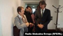 Градоначалникот на Струга Зиадин Села се сретна со германската амбасадорка Гудрун Штајнакер во Струга.
