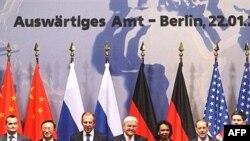 نمايندگان پنج عضو دايم شورای امنيت به همراه آلمان در نشست برلين