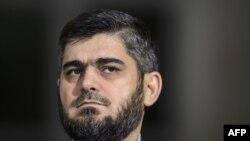 Лидер организации «Джейш аль-Ислам» Мохаммад Аллуш, глава делегации повстанцев Сирии на переговорах в Астане.