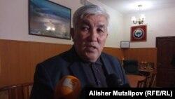 Глава департамента водного хозяйства и мелиорации Кокумбек Таштаналиев.