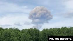 انفجارها در یک کارخانۀ تولید مواد انفجاری به نام کریستال در روسیه Source: Reuters (Reuters)