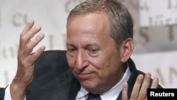 Lawrence Summers in New York in October
