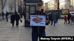 Активисты выступали против поправок в Конституцию в Петербурге