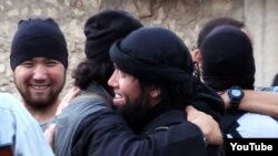 A 2013 YouTube video showed Kazakh jihadists active in Syria.