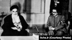 Верховный лидер Ирана аятолла Хомейни и Абольхасан Банисадр. Архивное фото
