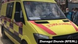 Автомобиль скорой медицинской помощи.