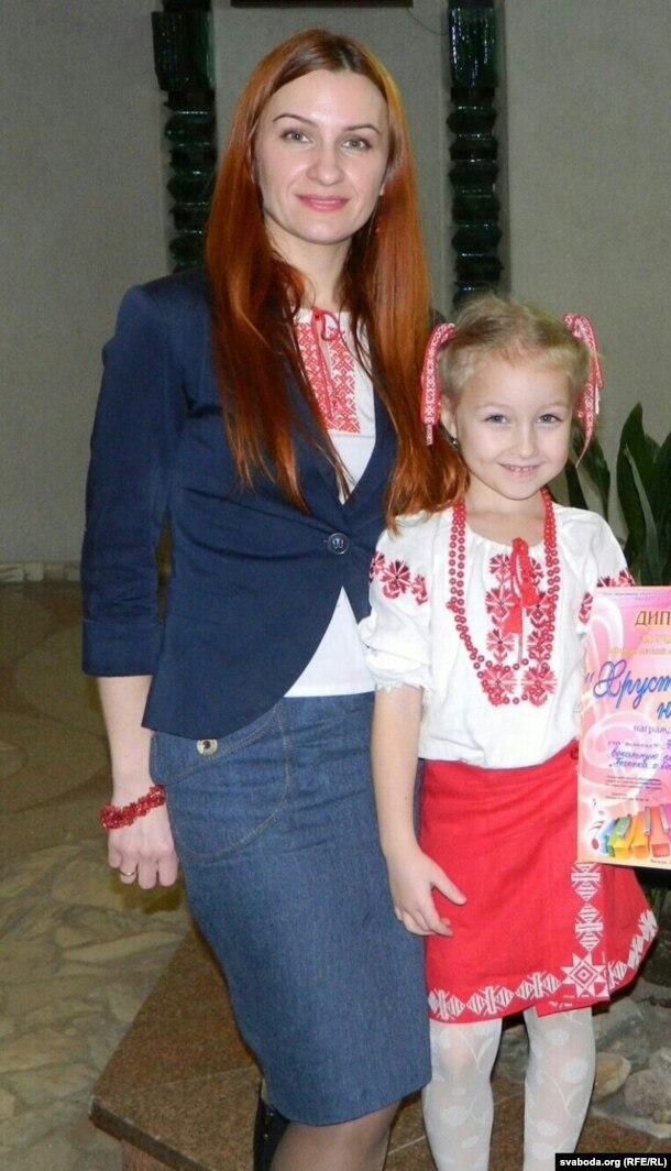 Маці першаклясьніцы Галіна Турандзіна
