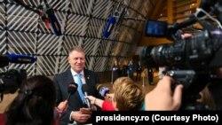 Presedintele Klaus Iohannis, înaintea reuniunii Consiliului European