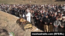 Javedullah Khan's funeral was offered in Swat on February 26