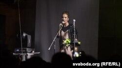 Заснавальніца гурту Shuma— Руся, архіўнае фота