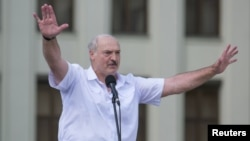 The opposition says the vote was rigged, and the West has refused to recognize Alyaksandr Lukashenka as the legitimate leader of Belarus.