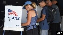 Голосование на выборах в Конгресс, Калифорния, США, 6 ноября 2018 года