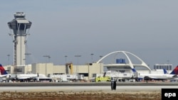 U.S. -- a general view over LAX airport of Los Angeles, California, 21 September 2012.