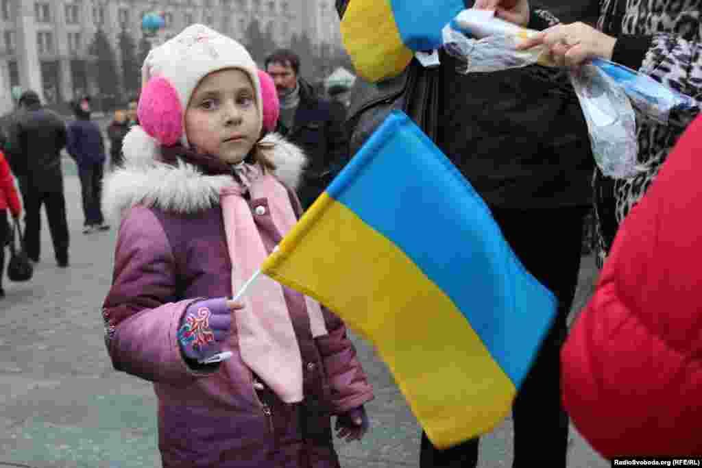 Ukraine -- Euromaidan for EU-Ukraine agreement, Kyiv, 24Nov2013