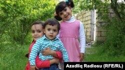 Murad Ədilovun uşaqları.
