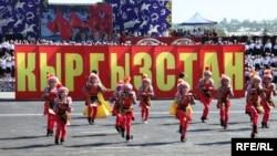 Празднование Дня независимости КР в городе Оше, 31 августа 2018 г.