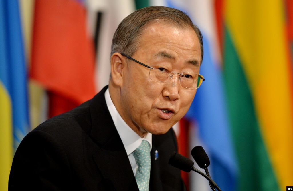 UN Chief Urges End To Violence In Nagorno-Karabakh