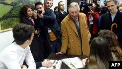 Princ Čarls u Osjeku 15. marta 2016 .