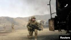 Ауғанстандағы НАТО сарбаздары. (Көрнекі сурет).