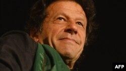 Лідер опозиції Імран Хан на опозиційному мітингу в Ісламабаді, Пакистан, 20 серпня 2014 року