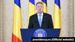 Președinele român Klaus Iohannis (foto de arhivă)