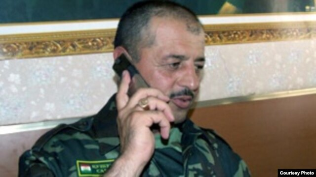 The government operation was targeting Tolib Ayombekov, a former opposition commander and current regional border guard head.