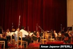 Бишкектеги классикалык музыканын концерттеринин бири.