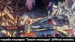 Оружие, изъятое у браконьеров