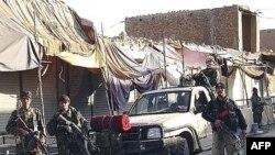 vojnici Afganistanske nacionalne armije u provinciji Helmand